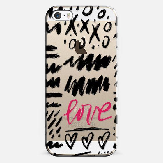 iPhone 5s Capa - Love Scribbles