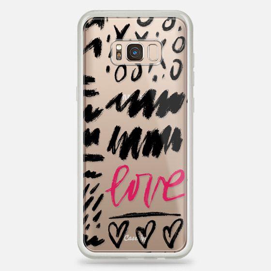 Galaxy S8+ Case - Love Scribbles