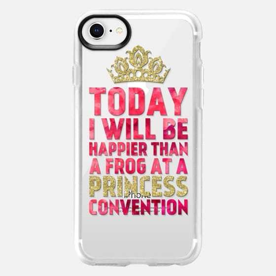 Happier than a Frog at a Princess Convention 01 - Snap Case