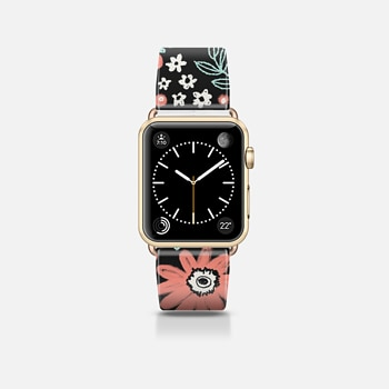Apple Watch Band (42mm) ケース Chalky Flowers
