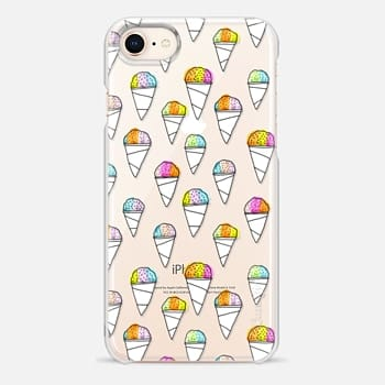 iPhone 8 Case sno-cone phone