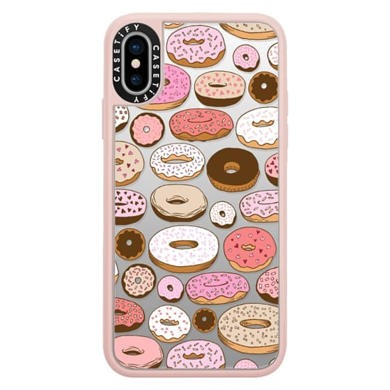 iPhone X Cases - Donuts Forever