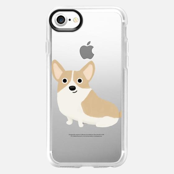 Corgi Dog (Clear) - Wallet Case