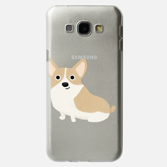 Corgi Dog (Clear)