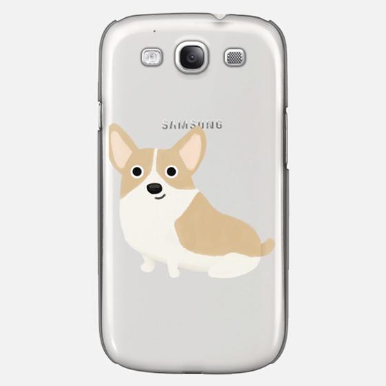 Corgi Dog (Clear)
