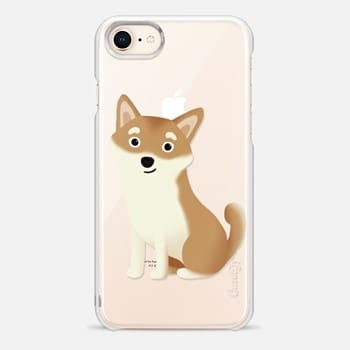 iPhone 8 Case Shiba Inu Dog (Clear)