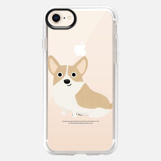 Corgi Dog (Clear) - Snap Case