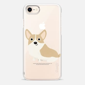 iPhone 8 Case Corgi Dog (Clear)