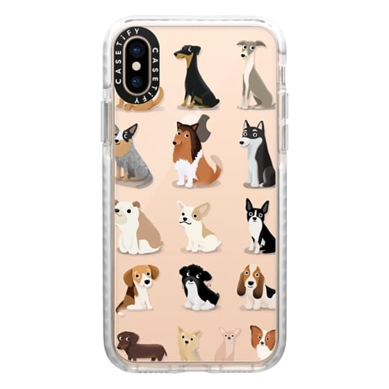 iPhone XS Cases - Dog Overload