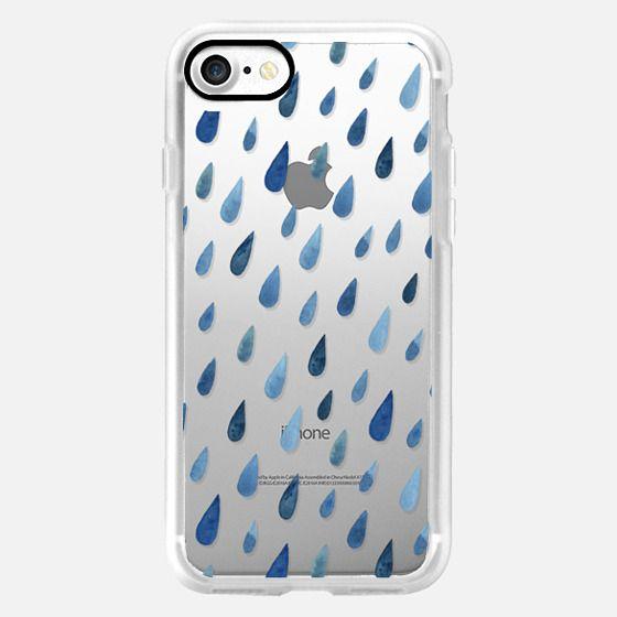 rain drops -
