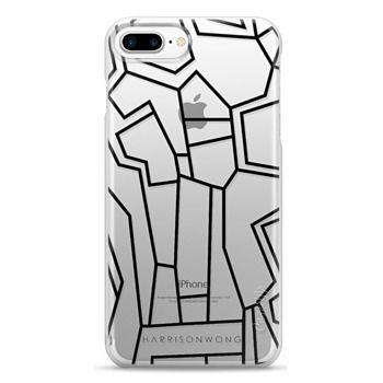 Snap iPhone 7 Plus Case - Harrison Wong - Art Brut 03
