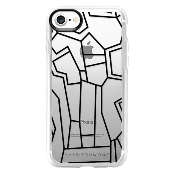 iPhone 7 Cases - Harrison Wong - Art Brut 03