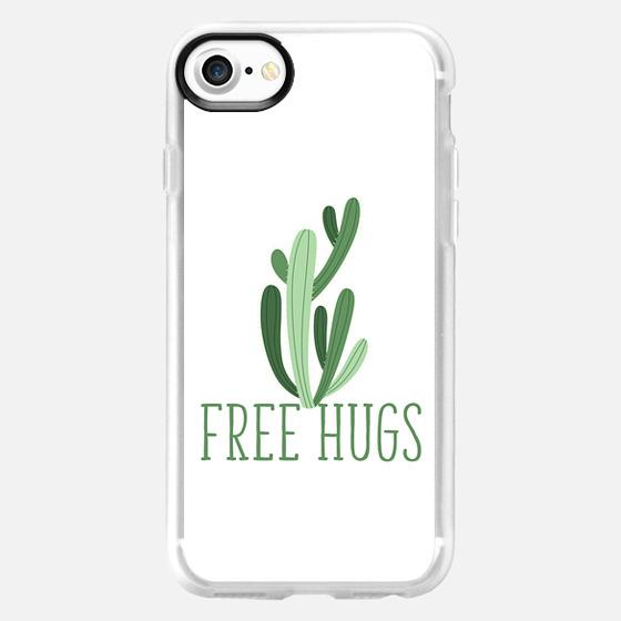 Cactus Free Hugs - white - Wallet Case