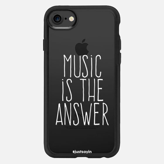 Music is the answer - Classic Grip Case