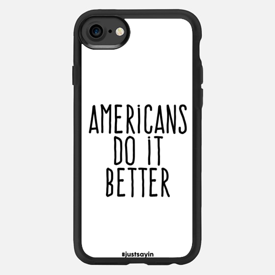 Americans do it better - Classic Grip Case