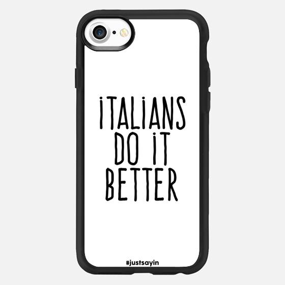 Italians do it better - Classic Grip Case