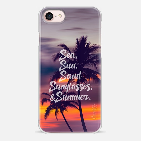 Sea sun sand sunglasses and summer - 4 - Snap Case