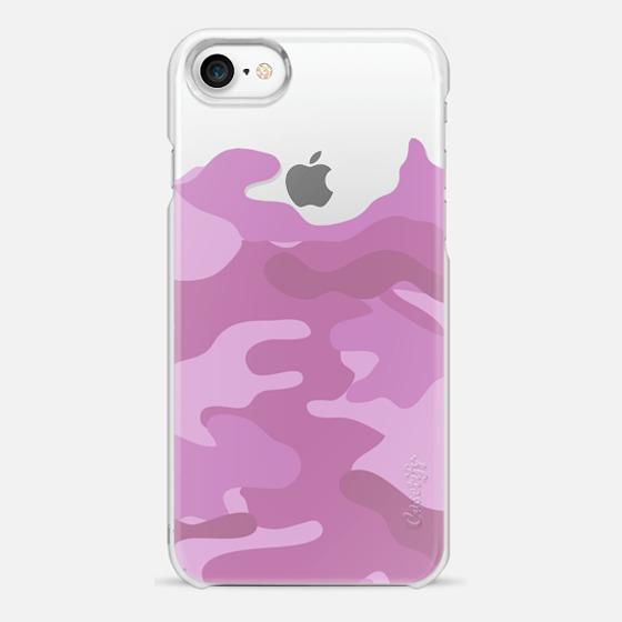 Camo light pink - Snap Case