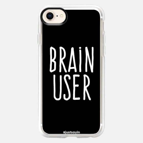 Brain user - Snap Case
