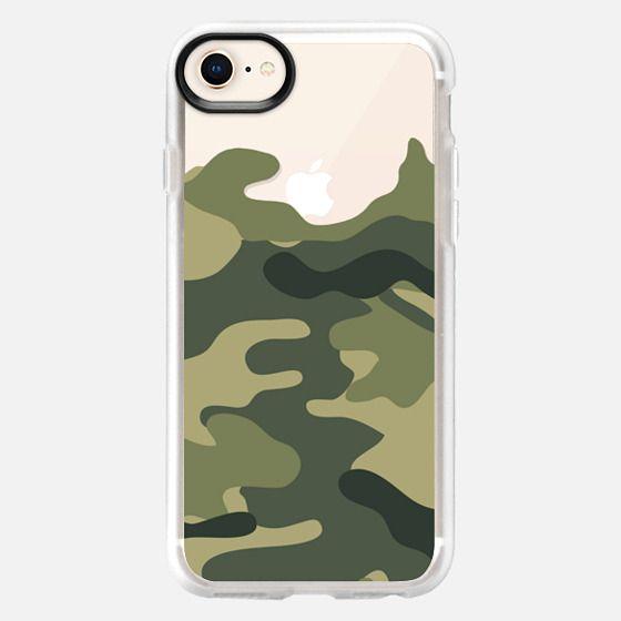 Camo transparent - Snap Case
