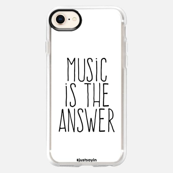 Music is the answer - Snap Case