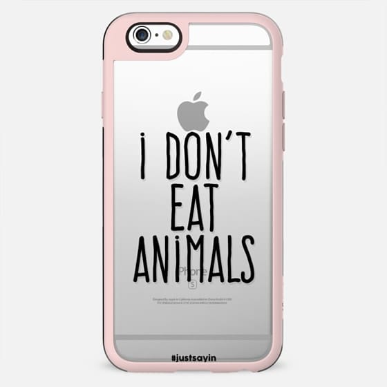 I don't eat animals - New Standard Case