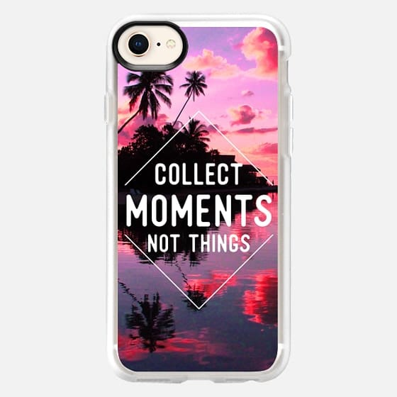 Collect moments not things - Snap Case