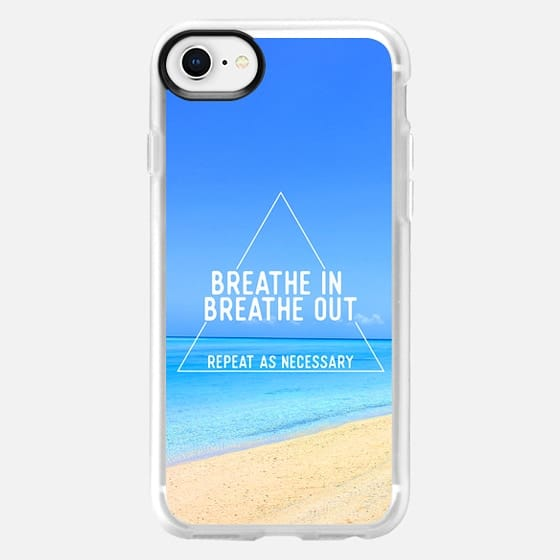 Breathe in breathe out - Snap Case
