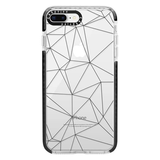 iPhone 8 Plus Cases - Geometric lines
