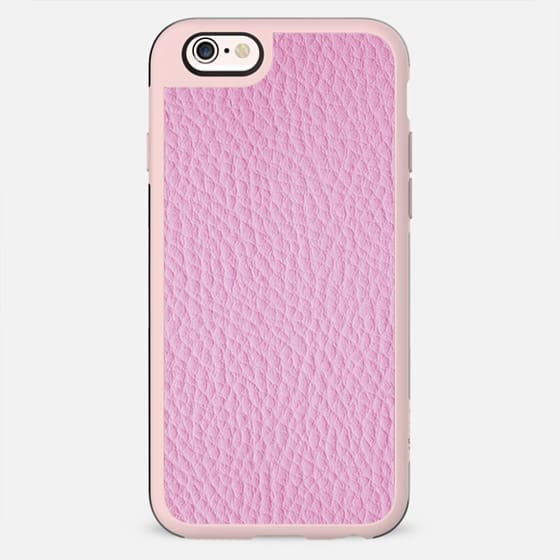Leather like pink - New Standard Case