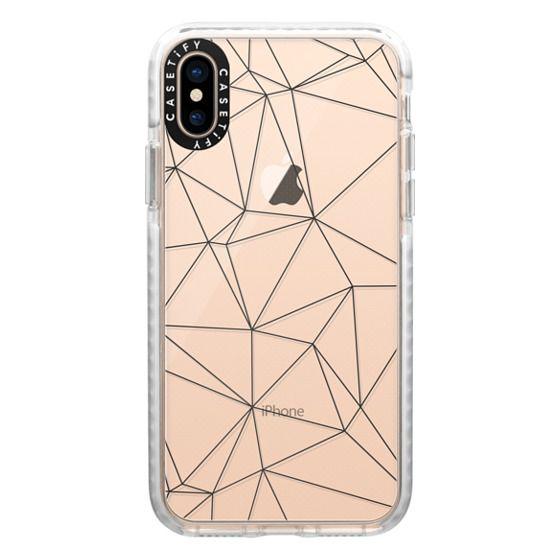 iPhone XS Cases - Geometric lines