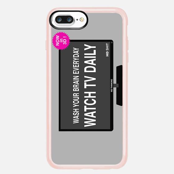 Casetify iPhone 7 Plus/7/6 Plus/6/5/5s/5c Case - TV Wash ...