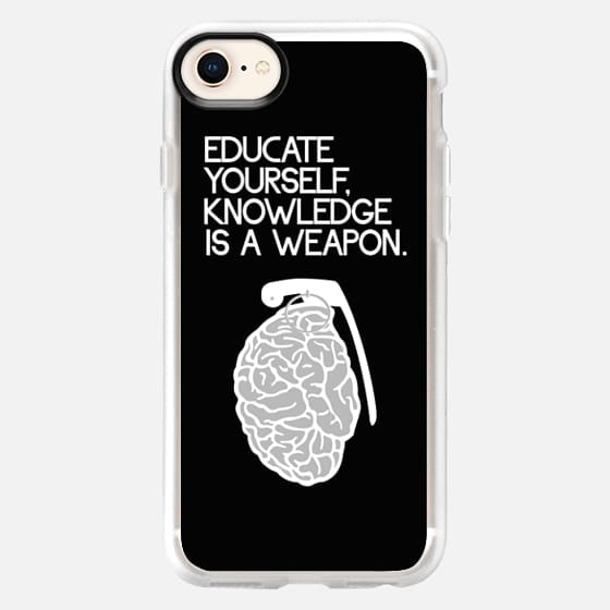 Educate yourself Knowledge is a weapon - Snap Case