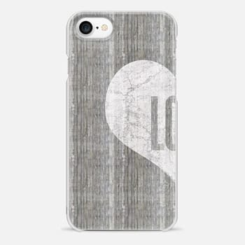 iPhone 7 Case Half heart - for lovers