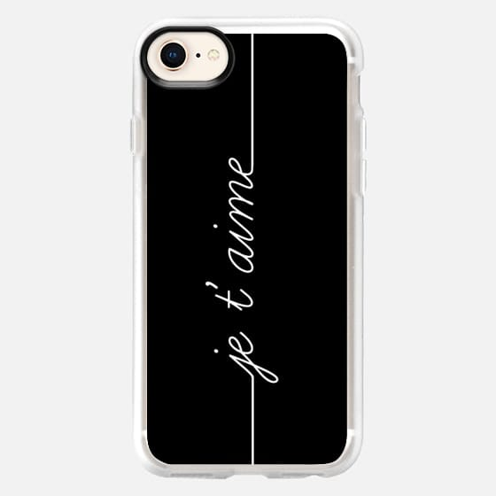 JE T'AIME - I LOVE YOU FRENCH - Snap Case