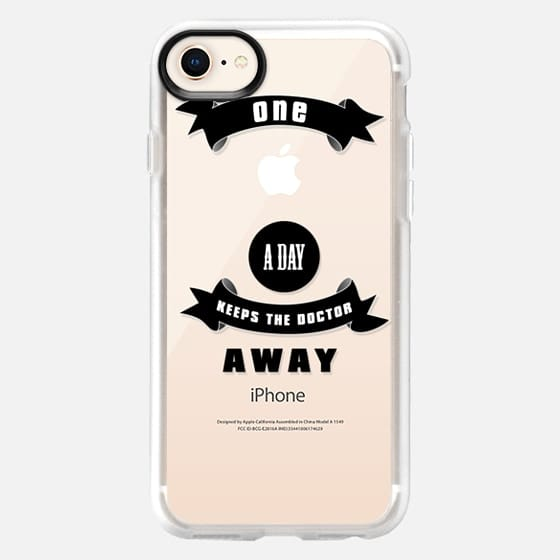One apple a day keeps the doctor away - for 6 /6 plus / 5c - Snap Case