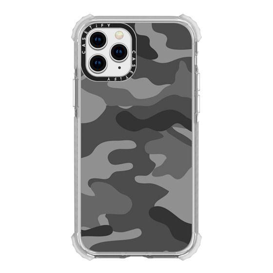 iPhone 11 Pro Cases - Camo grey