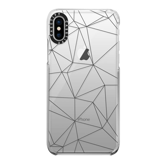 iPhone X Cases - Geometric lines