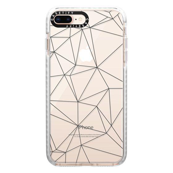 iPhone 8 Plus Cases - Geometric lines