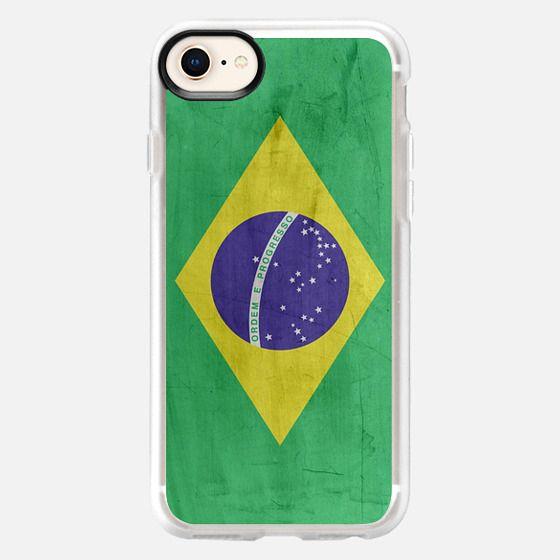 Brasil Flag - Snap Case