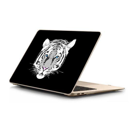 MacBook Air Retina 13 Sleeves - White tiger - black