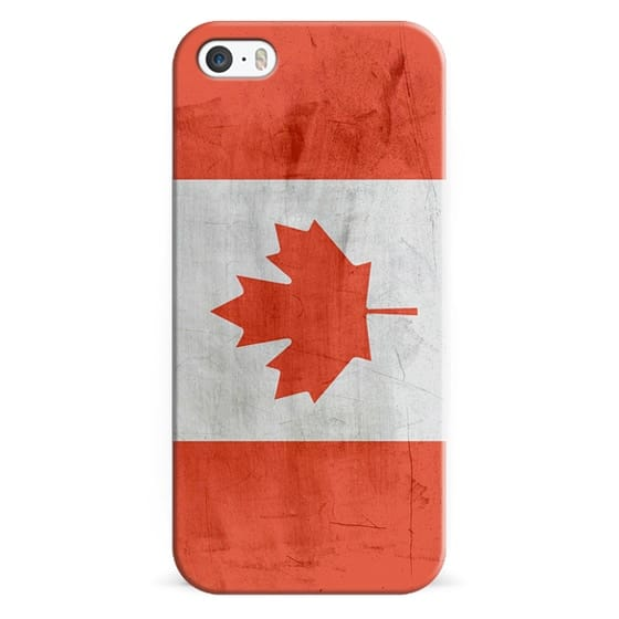 2110635539d iPhone 5s Cases - Canada Flag