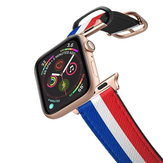 Apple Watch 42mm Bands - France flag - Patriot collection