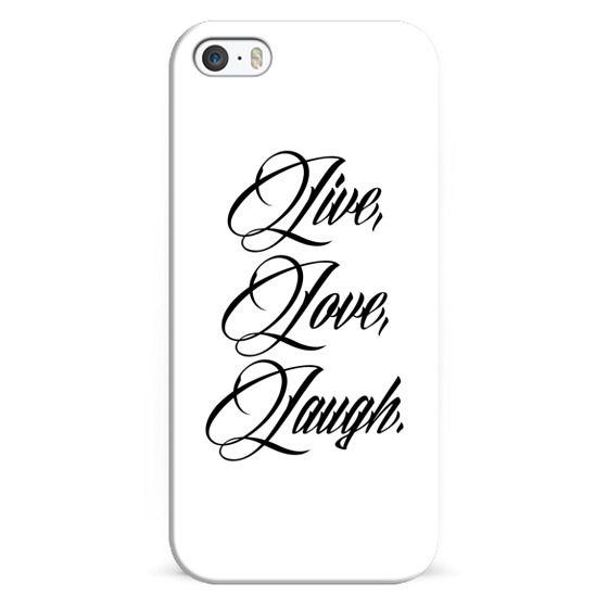 Live Love Laugh Calligraphy