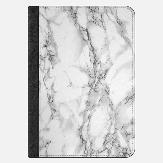 iPad Mini 4 Case - White marble