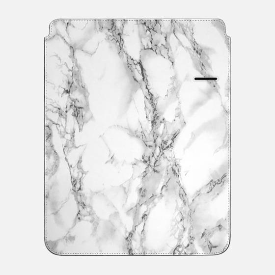"iPad Pro 12.9"" Sleeve - White marble"