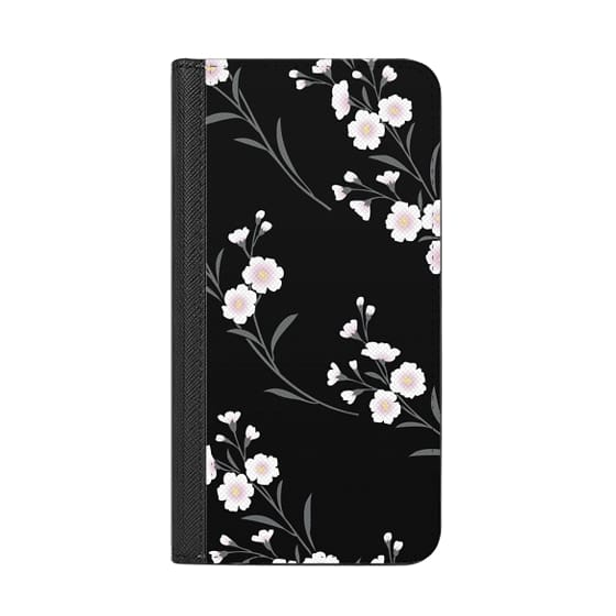 iPhone X Cases - Japanese flowers