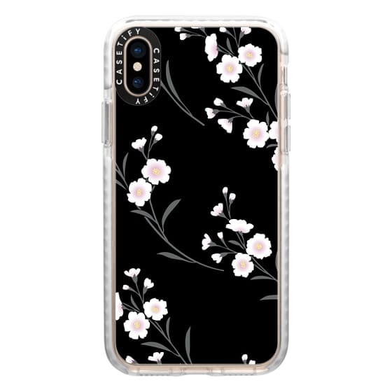 iPhone XS Cases - Japanese flowers