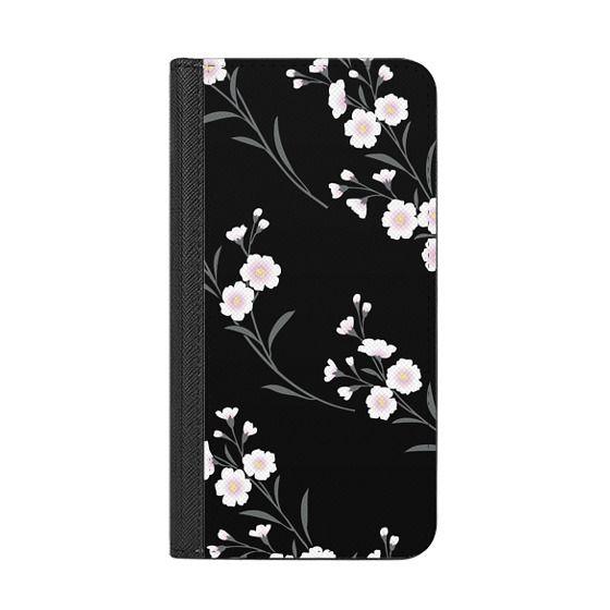 iPhone 8 Plus Cases - Japanese flowers