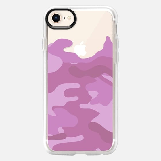 Camo light pink - Snap Case